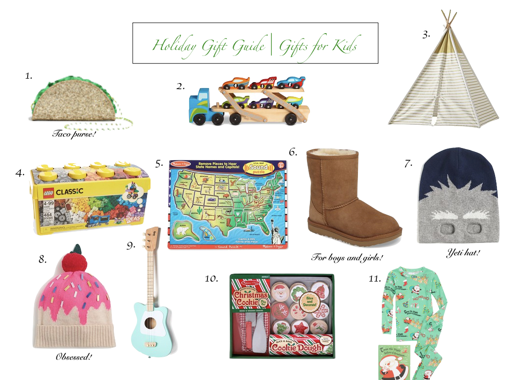 Holiday Gift Guide | For Kids