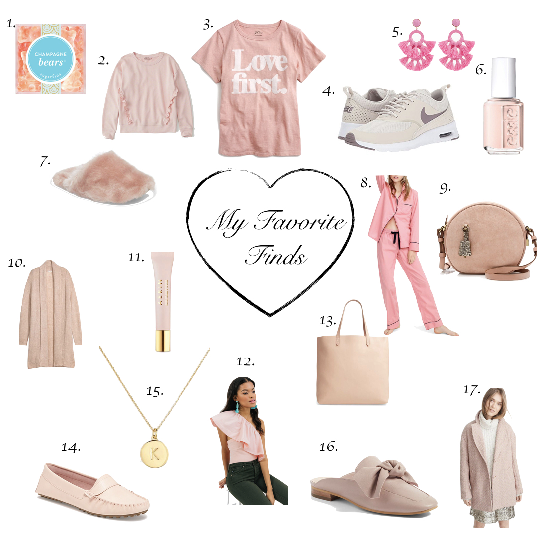 My Favorite Finds | Crushing on Blush