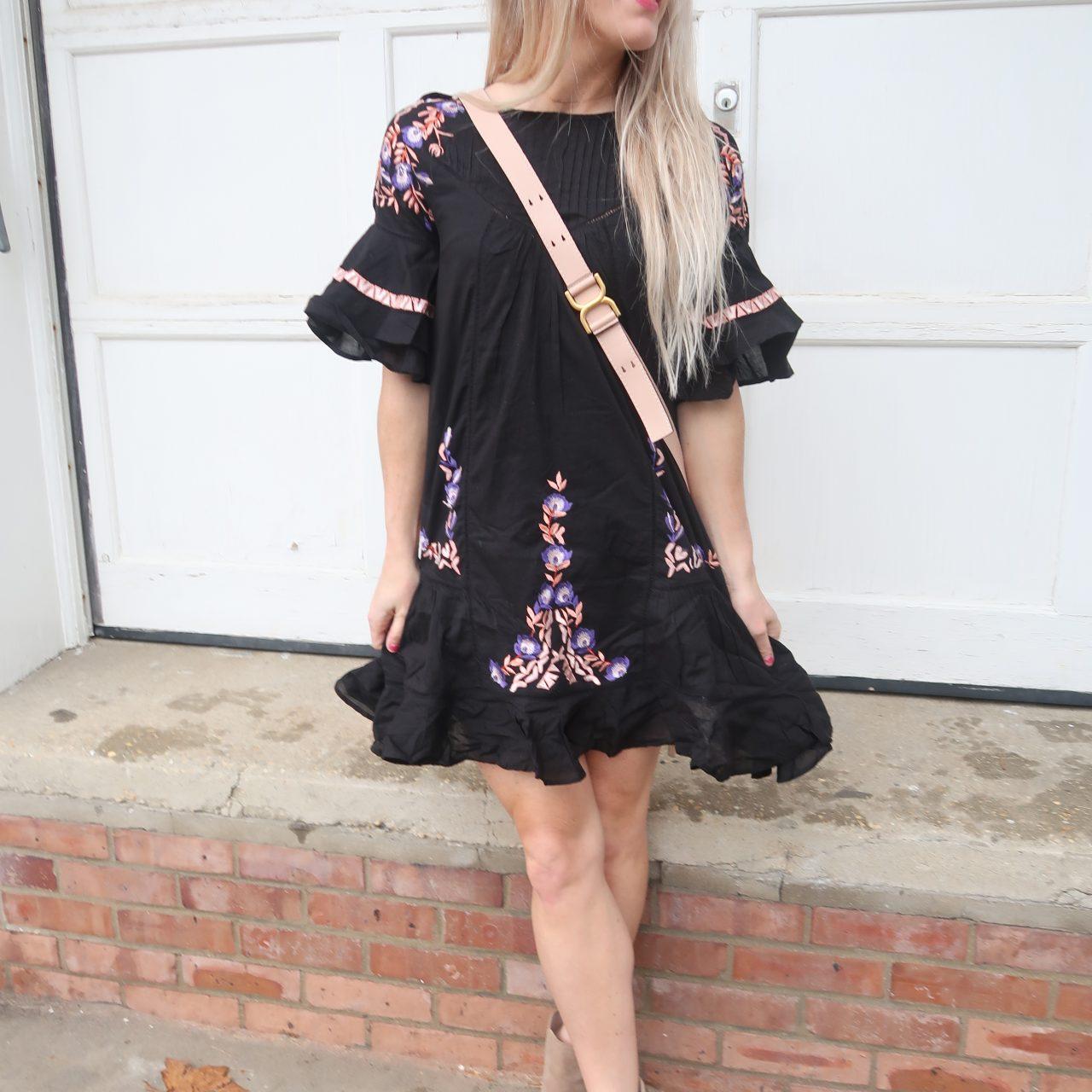 Black Dress for Spring