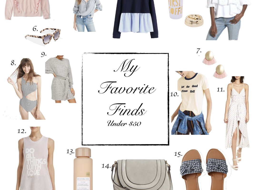 Favorite Finds | Under $50