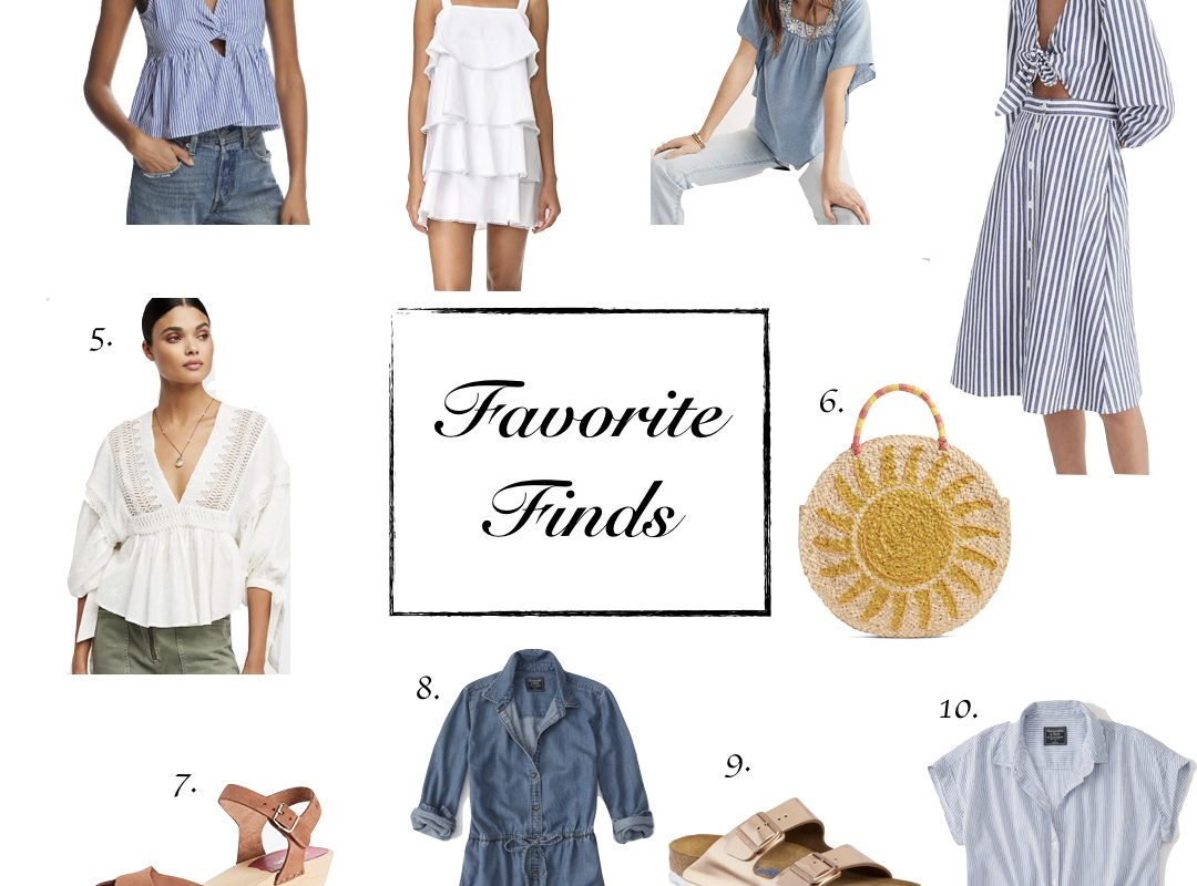 Favorite Finds || Blue and White