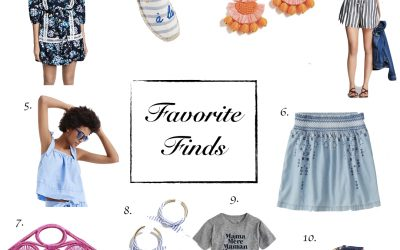 Favorite Finds | Memorial Day Weekend