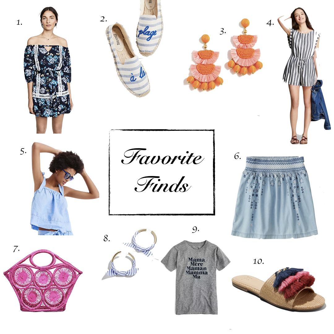Favorite Finds | Memorial Day Weekend