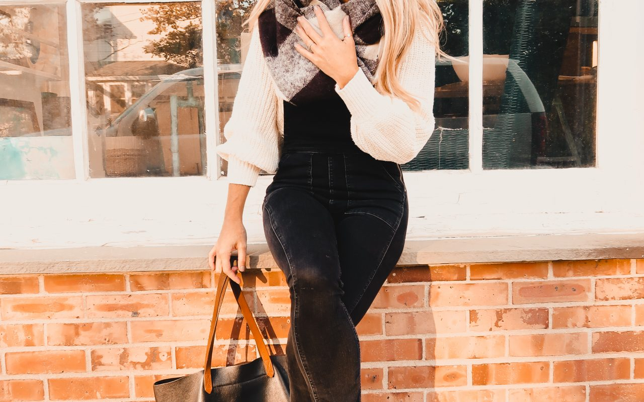 Styling Black Overalls for Fall + More Fall Finds