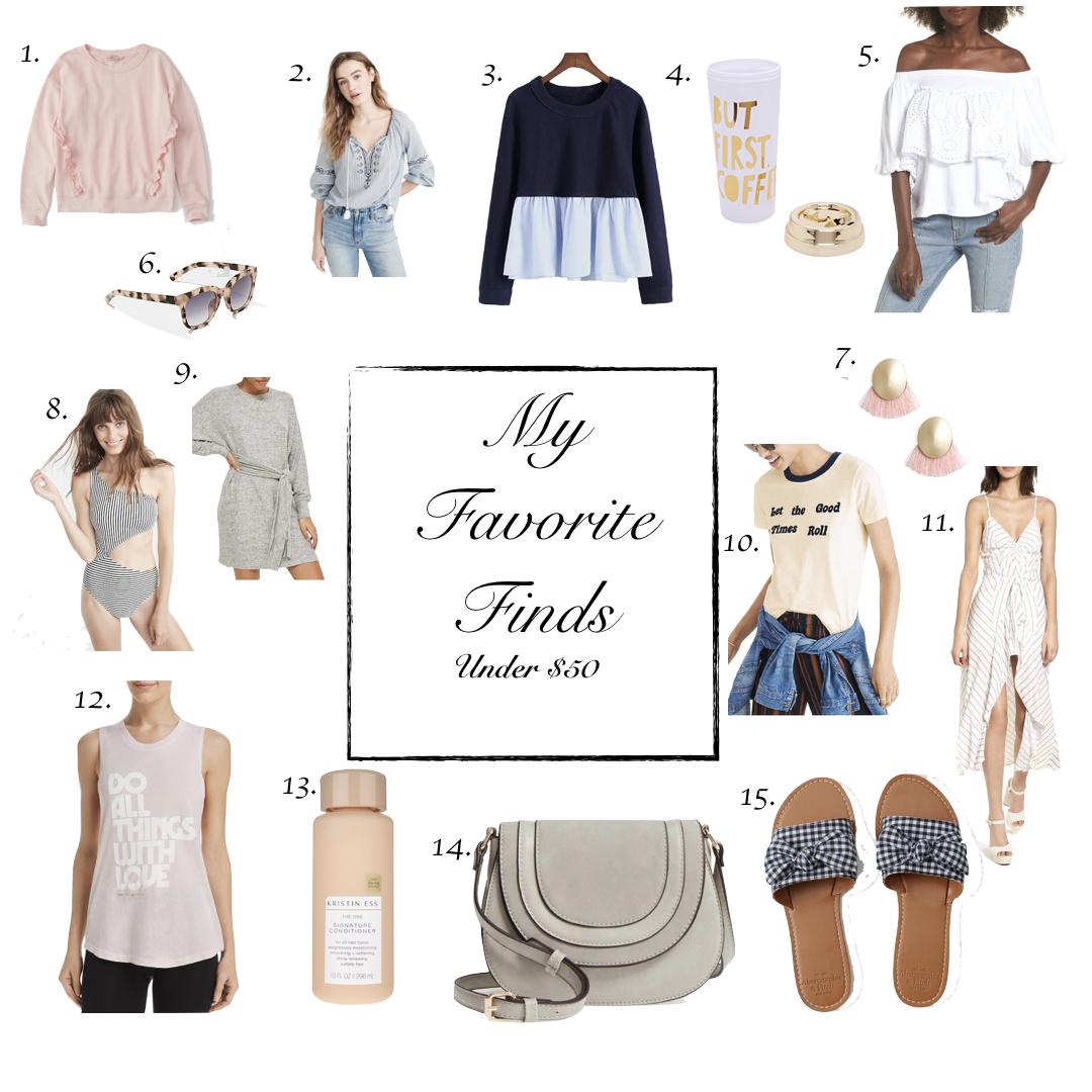 Favorite Finds | Under $50