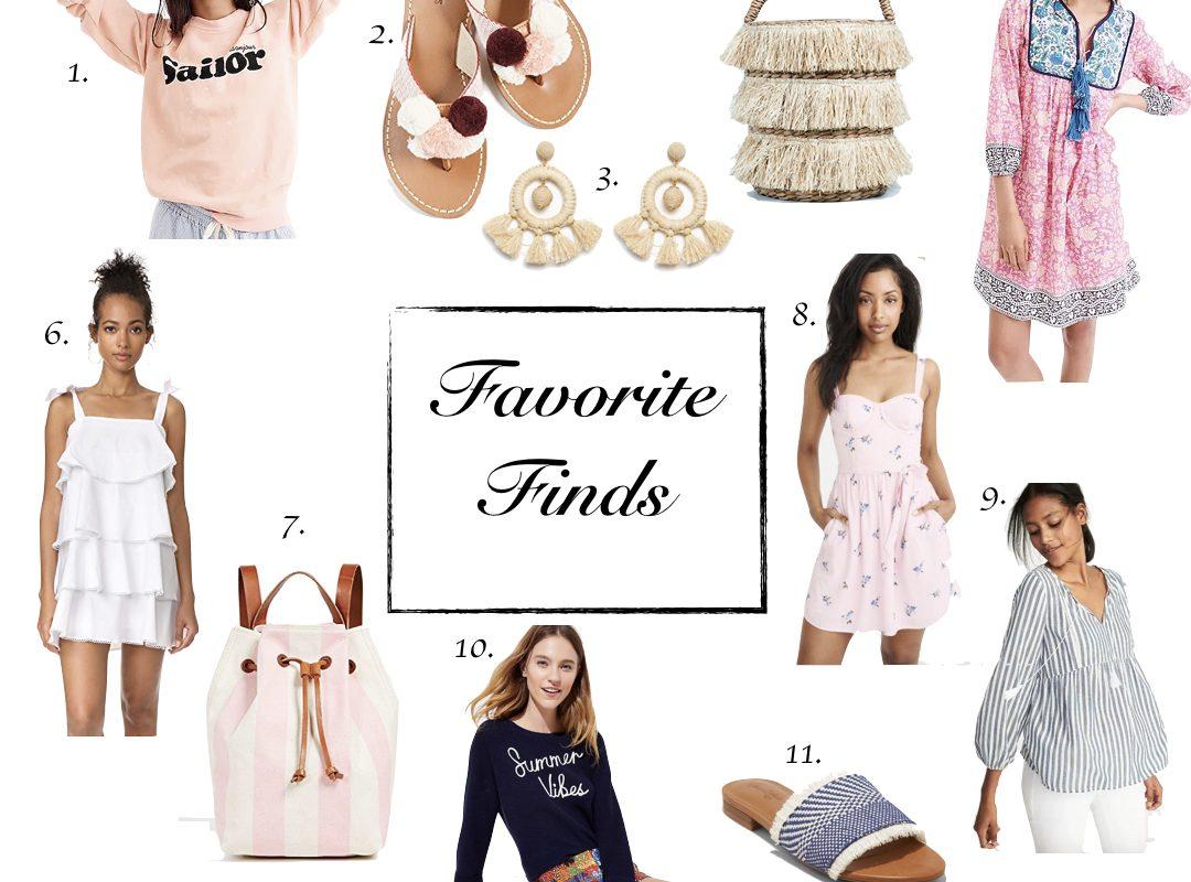 Favorite Finds | Summer Lovin Styles
